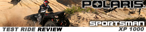 We Test Ride the Polaris Sportsman XP 1000 Utility ATV