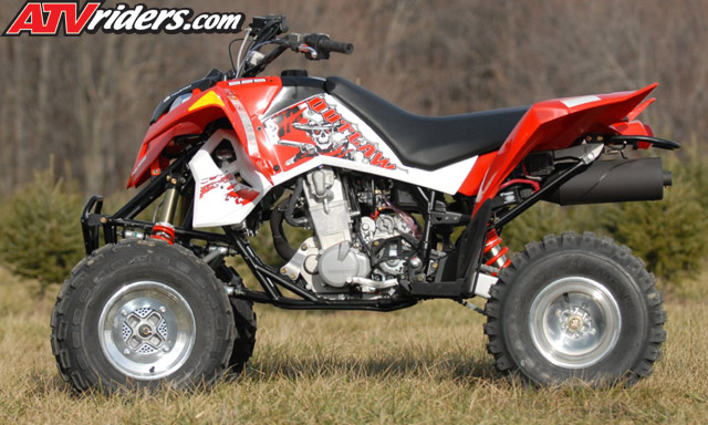 2008 polaris outlaw 525 irs 525 s atv review. Black Bedroom Furniture Sets. Home Design Ideas
