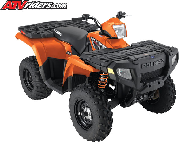 2010 polaris sportsman 500 h o special edition orange madness atv. Black Bedroom Furniture Sets. Home Design Ideas