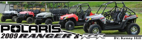 2009 Polaris Ranger & Rzr Test Ride Review