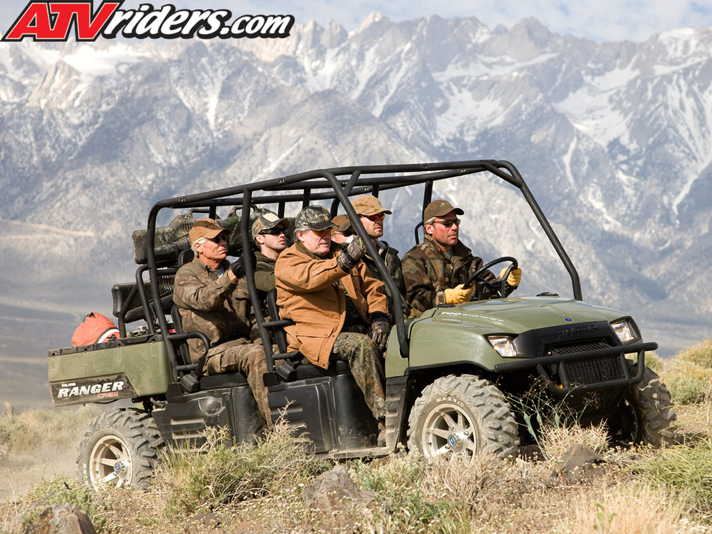 The highly popular Polaris Ranger Crew is back for 2009 with its large