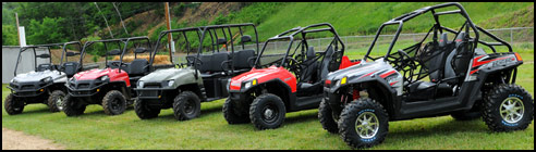2009 Polaris Ranger HD & Ranger RZR S UTV Model Line-Up