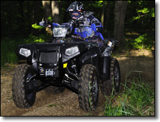 Polaris Sportsman 550 XP Utility ATV Mossy Oak Camo