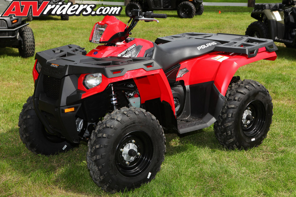2011 Polaris Sportsman 400 HO Utility ATV Test Ride Review - Polaris ...
