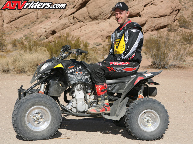 2007 polaris outlaw 525 atv press introduction with jeff stoess. Black Bedroom Furniture Sets. Home Design Ideas