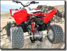 Polaris Outlaw 450MXR ATVstraigtht axel rear