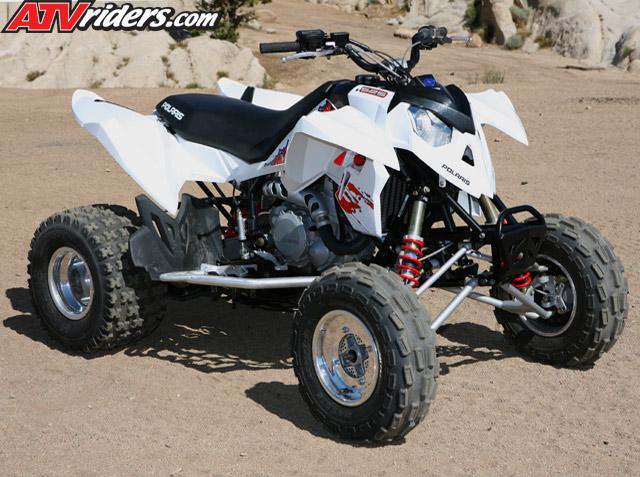 2008 Polaris Outlaw 450 MXR & Outlaw 525 S ATV Press Intro