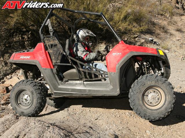 2008 Polaris Ranger Rzr Side By Side First Test Ride