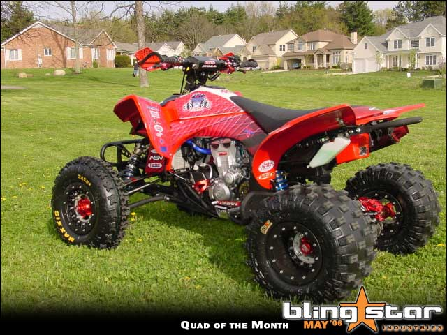 2006 Bling Star Quad Of The Month