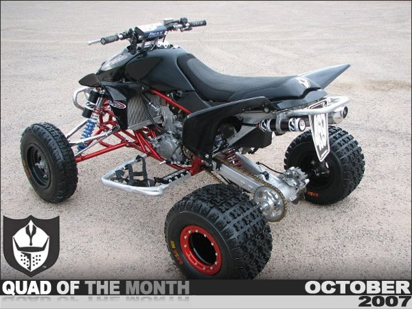 Pro Armor S October Quad Of The Month September Morgan