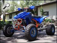 QOTM ATV Honda TRX450R Orange