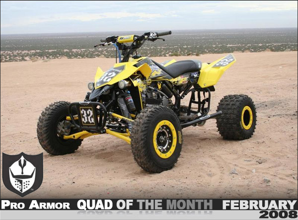 Pro Armor S February 08 Quad Of The Month Jaromy