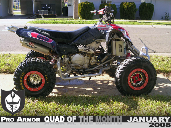 Black Box Dash Cam >> Pro Armor's January '08 Quad of the Month - John Shugarts ...