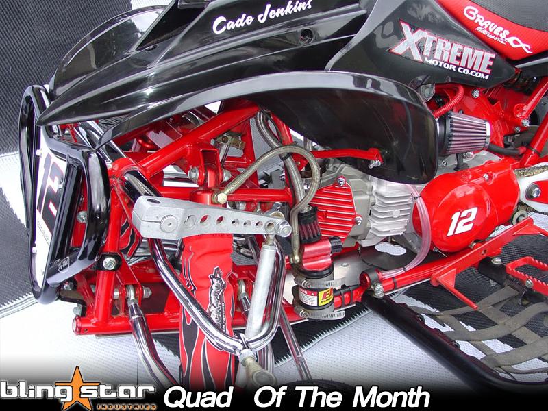 Cade Jenkins' Xtreme Typhoon Custom Mini ATV - October '09 BlingStar Quad of the Month
