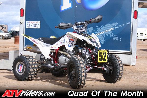 Brandon Lugan Yamaha Raptor 250 Qotm Atv March 10 Quad