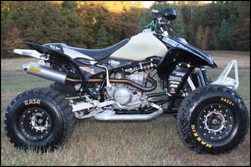 Chase Ottway's Honda TRX 450R ATV - April 2011 Quad of the Month
