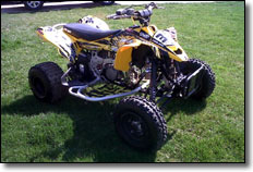 o Logan Dusenberry's Can-Am DS450 / KTM 85