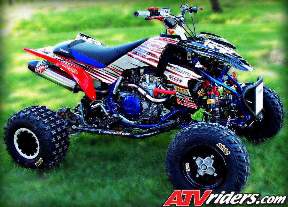 Quad of the month june 2012 randy roennpagel 39 s 2008 for 2008 yamaha yfz450