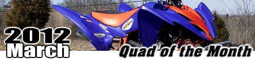 Jordan Trimble 's 2008 Yamaha Raptor 250 ATV
