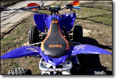 2008 Yamaha Raptor 250 ATV