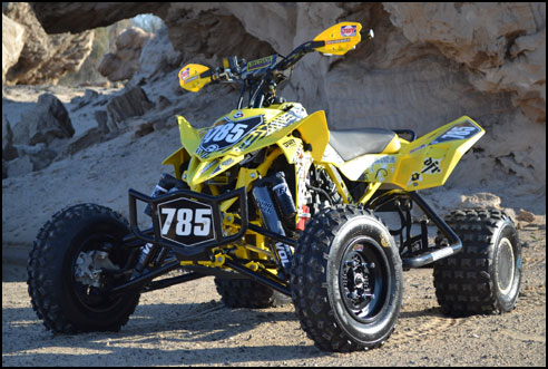 Suzuki Ltr  Exhaust