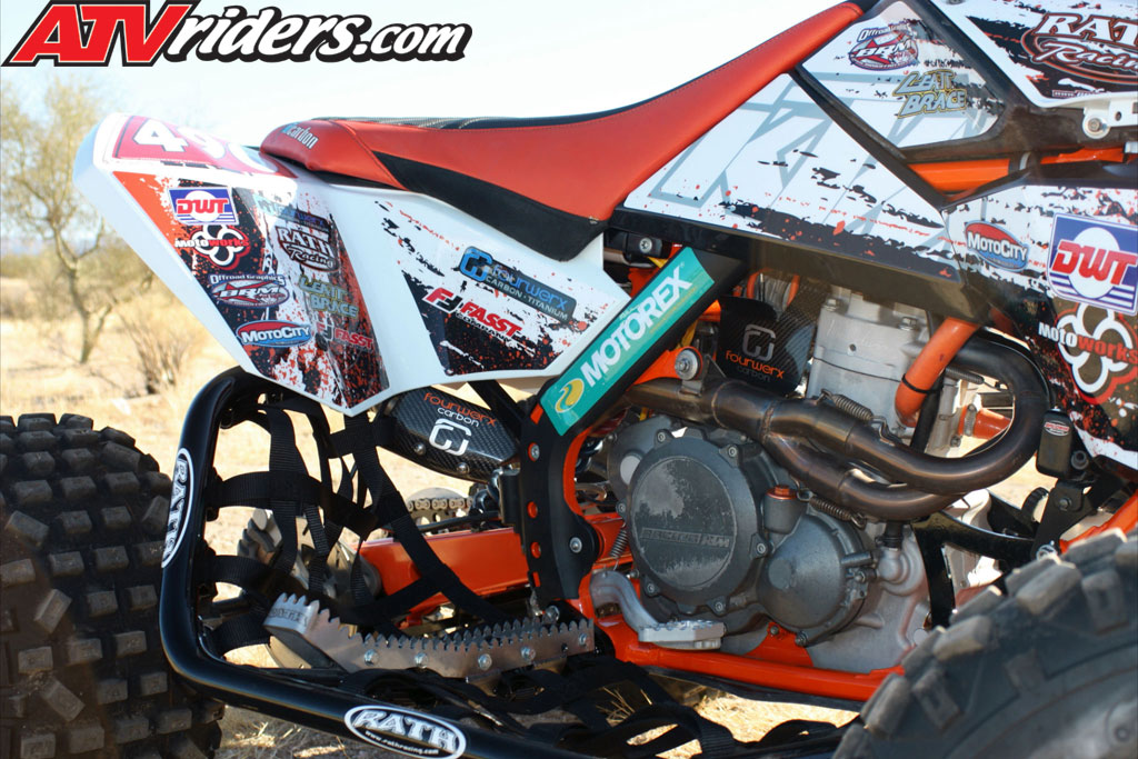 Quad Of The Month November 2012 Conrad Funke S Ktm 450