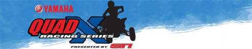 Yamaha Quad X ATV Racing Logo