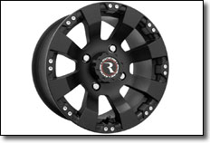 Raceline Spyder Black Matte Wheel
