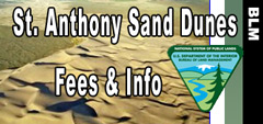 BLM St Anthony Sand Dunes Idaho