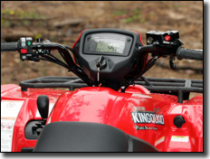 Suzuki King Quad 450 4x4 airbox location