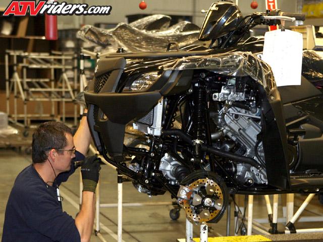 2007 suzuki king quad 450 4x4 test ride - fuel injected 4x4