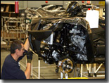 Suzuki King Quad 450 4x4 ATV being built in factory
