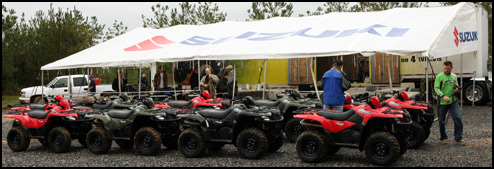 2007 King Quad 450's at Highland Park