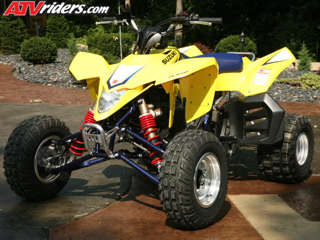 2008 Suzuki Ltr450 Quadracer Race Atv Review