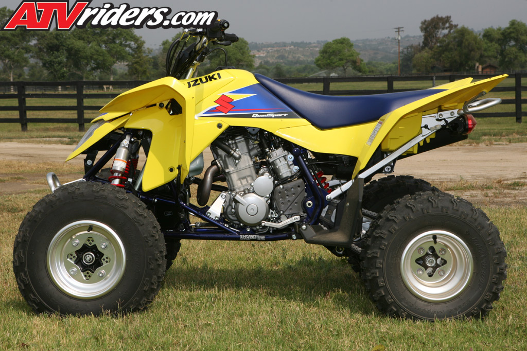 2009 suzuki lt z400 quad sport atv test ride review. Black Bedroom Furniture Sets. Home Design Ideas