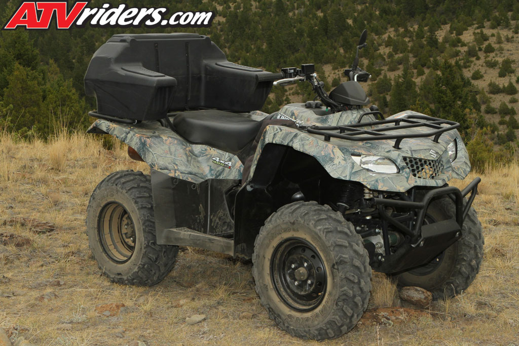 2011 suzuki king quad 400 asi 4x4 utility atv test ride review we test the suzuki king quad. Black Bedroom Furniture Sets. Home Design Ideas