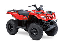 2014 Suzuki King Quad 400 ASi Red 