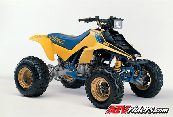 History Of Suzuki Atvs