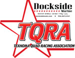 TQRA ATV Motocross Racing Logo - Texhoma Quad Racing Association