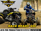 "Pre-Production US Highland ""Custom Built"" 450 ATV Ride Review"