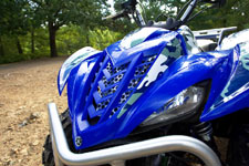 2006 Yamaha wolverine 450 on-command 4x4 ATV front fender
