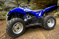 2006 Yamaha wolverine 450 on-command 4x4 ATV Maxxis tires