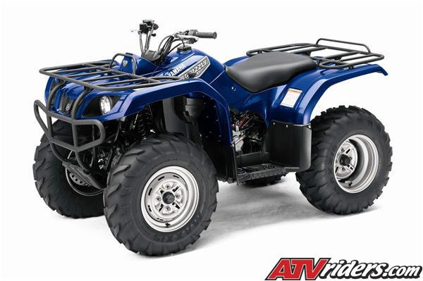 2007 Yamaha Grizzly 350 Automatic Utility Atv Info
