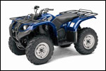 Blue 2007 Grizzly 400 Auto. 4x4 ATV