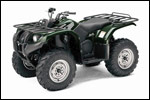 Green 2007 Grizzly 400 Auto. 4x4 ATV