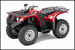 Red 2007 Grizzly 400 Auto. 4x4 ATV