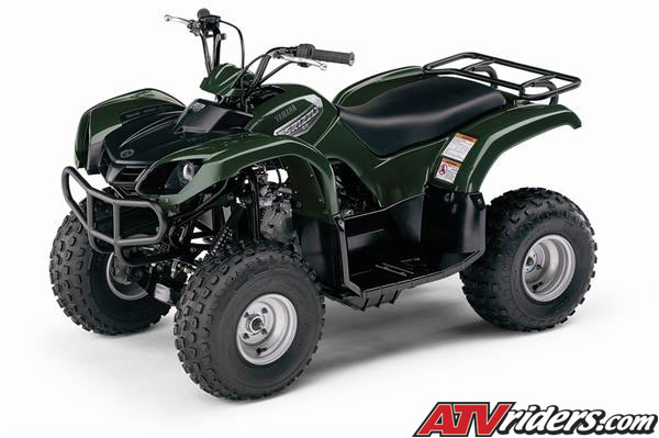 2007 yamaha grizzly 80 mini atv info features benefits for Yamaha grizzly 80
