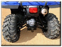 2007 Yamaha Big Bear 400 IRS 4x4 independent rear suspension