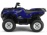 2007 Yamaha Grizzly 700 Utility ATV - Blue