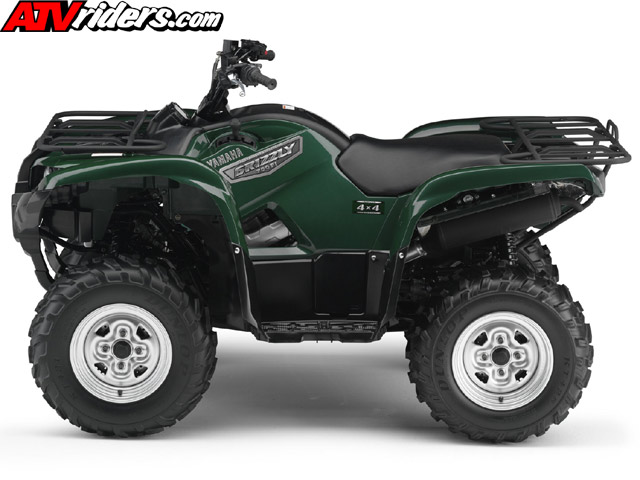 2007 yamaha grizzly 700 fuel injected 4x4 utility atv with for Yamaha 90cc atv